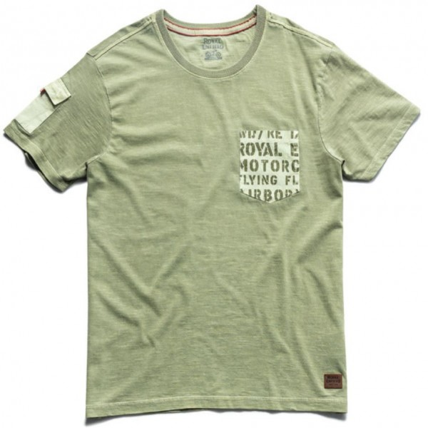 Royal Enfield Shades Of Summer T-Shirt Olive (NEW)