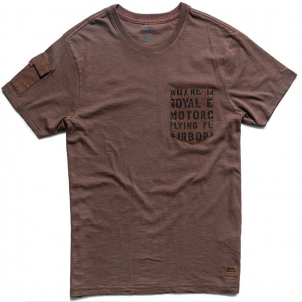 Royal Enfield Shades Of Summer T-Shirt Brown (NEW)