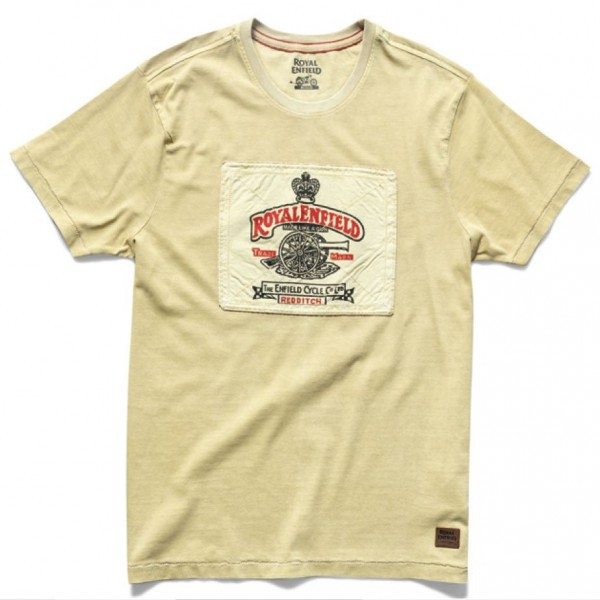 Royal Enfield Heritage T-Shirt Khaki (NEW)