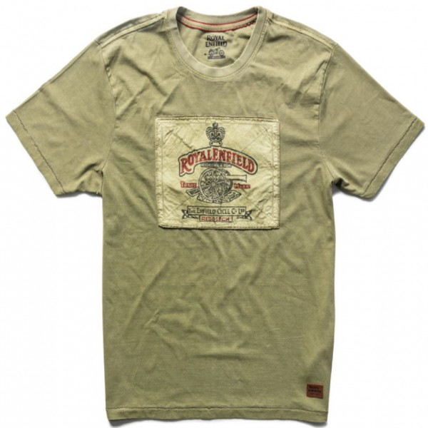 Royal Enfield Heritage T-Shirt Olive (NEW)