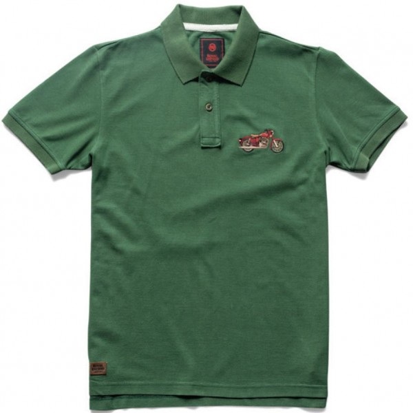 Royal Enfield Classic Polo Shirt Green (NEW)