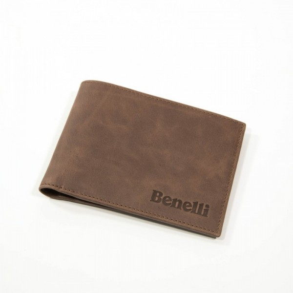 "Benelli Leather Wallet ""Limited Edition"" Brown"