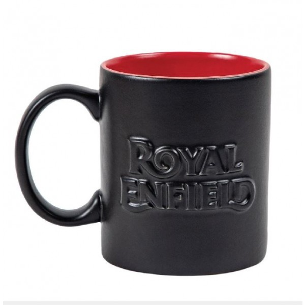 Royal Enfield Embossed Black Mug