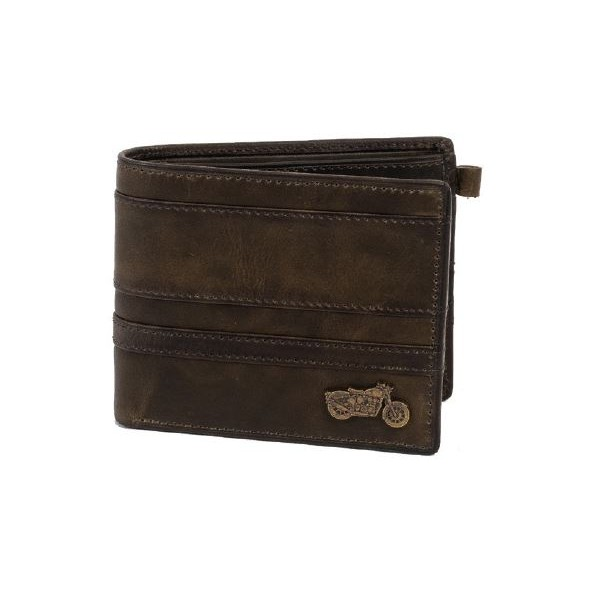 Royal Enfield Thick & Thin Stripe Wallet (Available In 3 Colours)