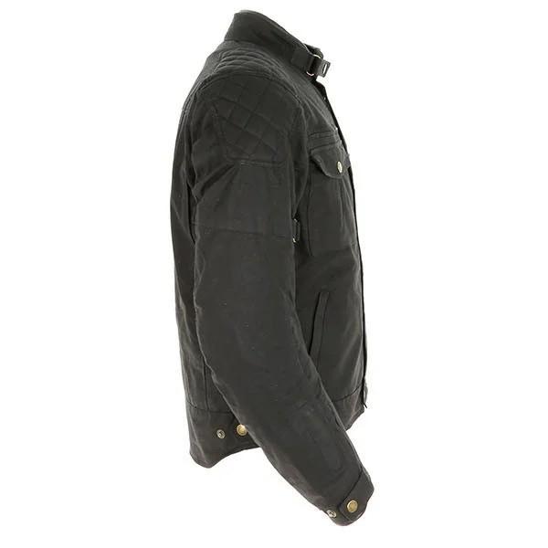Merlin Barton Wax Textile Jacket - Black