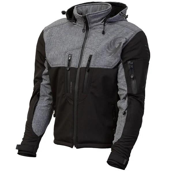 Merlin Dune Softshell Textile Jacket - Merle / Black