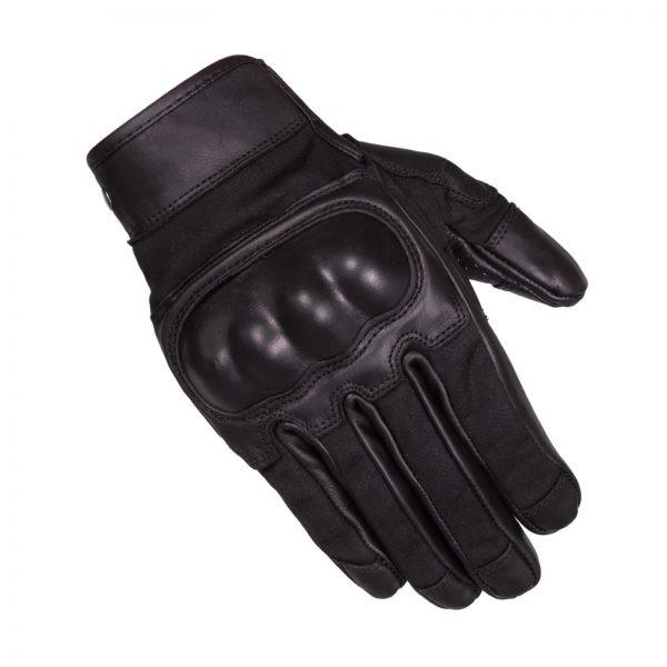 Merlin Glenn Textile/Leather Gloves Black