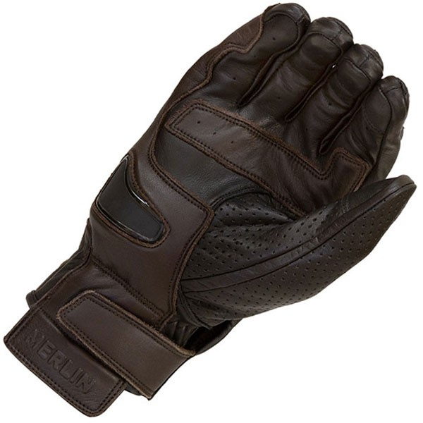 Merlin Thirsk Leather Gloves Black/Brown
