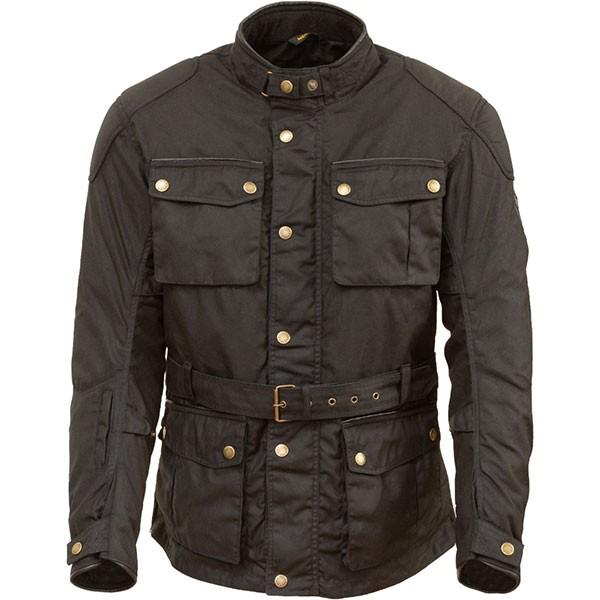 Merlin Kurkbury Textile Jacket - Black