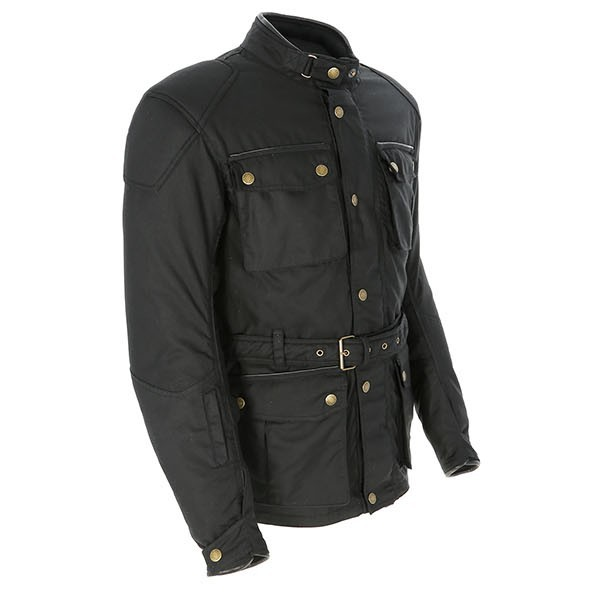 Merlin Kurkbury Textile Jacket - Black