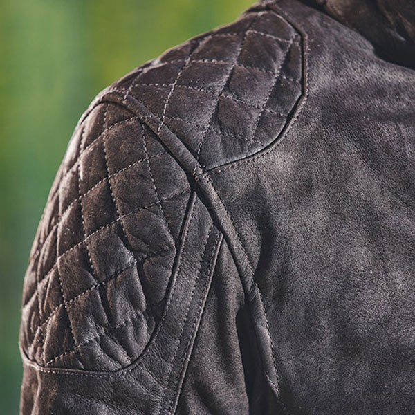 Merlin Stockton Leather Jacket - Brown