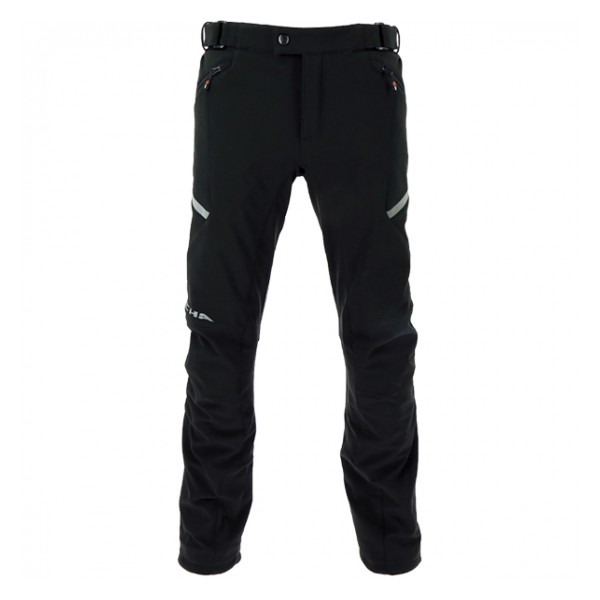 RICHA SOFTSHELL TROUSERS - BLACK