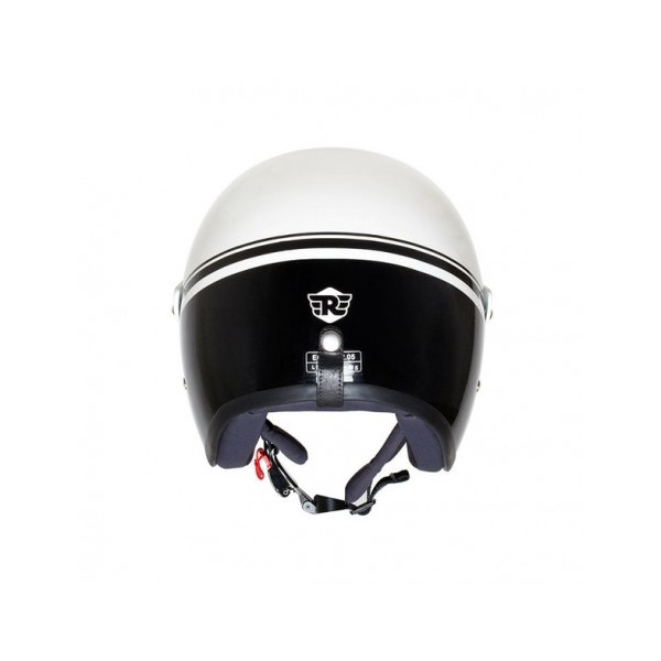 Royal Enfield Sun Peak Helmet White/Black