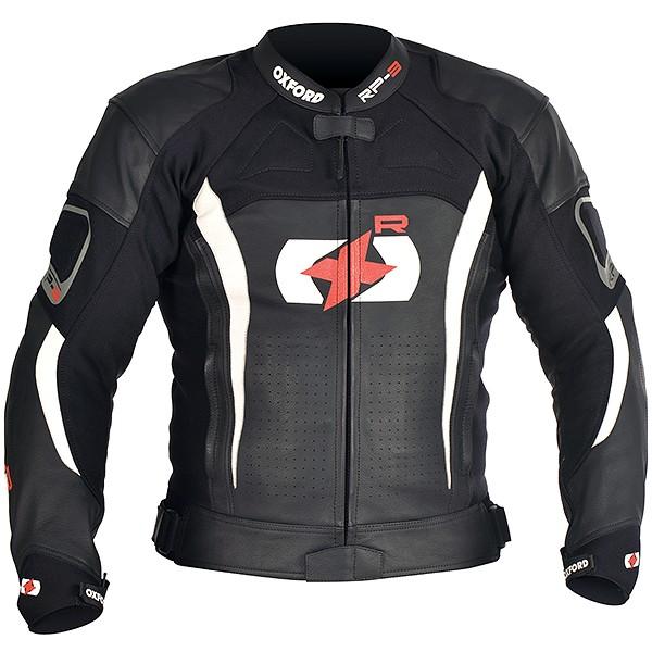 Oxford RPJ-3 Leather Jacket Black