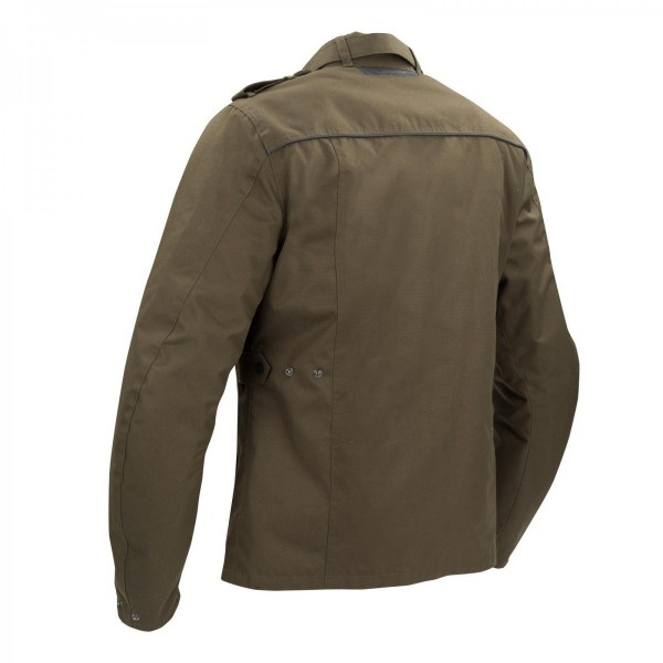 BERING NORRIS MENS TEXTILE JACKET-KHAKI BROWN