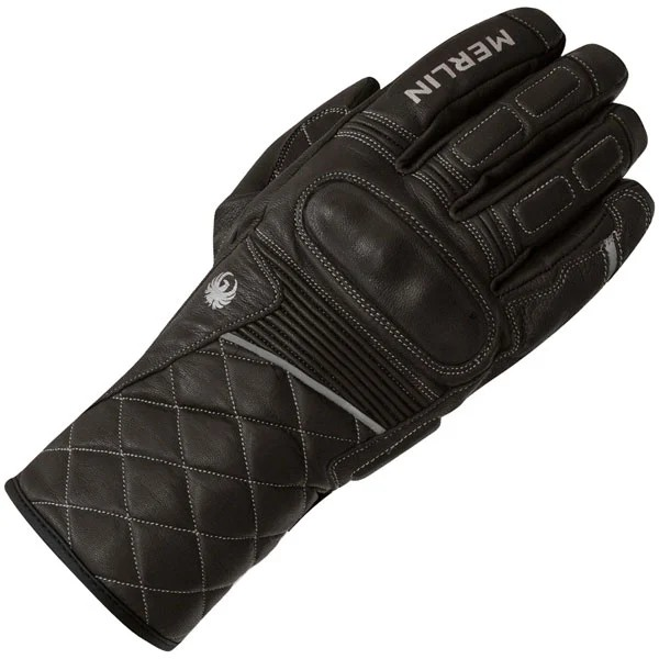 Merlin Catton Outlast Leather Gloves - Black