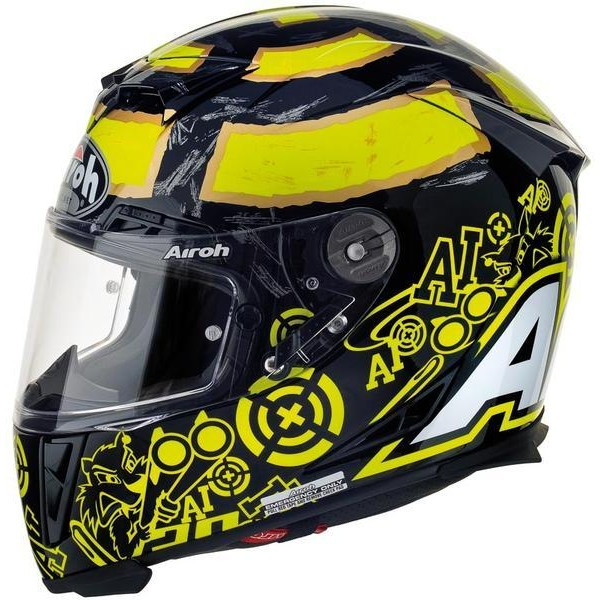 AIROH GP500 REPLICA IANNONE BLACK