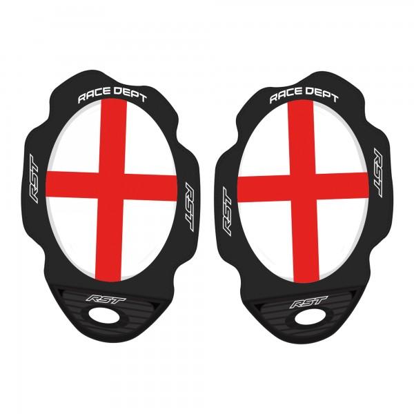 RST Factory Flag Series George Cross Knee Sliders