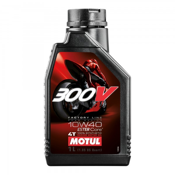 Motul 300V 10W40 Factory Line Road Racing 1 Litre