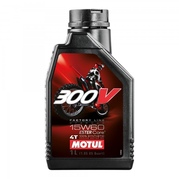 Motul 300V 15W60 Off Road 1 Litre