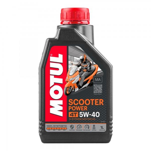 Motul Scooter Power 5W40 4T MA 1 Litre