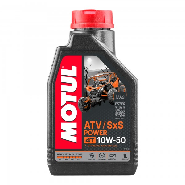 Motul ATV-SXS Power 10W50 4T 1 Litre