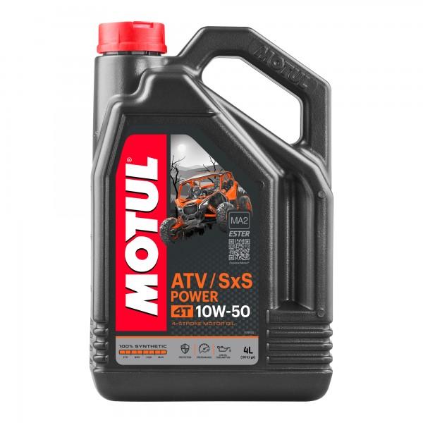 Motul ATV-SXS Power 10W50 4T 4 Litres