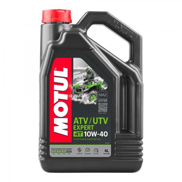 Motul ATV-UTV Expert 10W40 4T 4 Litres
