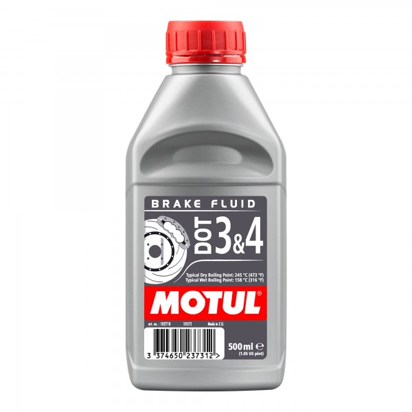 Motul DOT 3 & 4 Brake Fluid 0.5 Litres