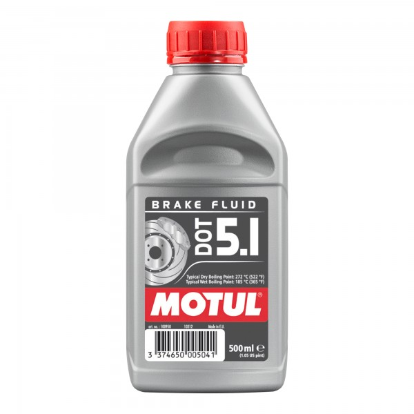 Motul DOT 5.1 Brake Fluid 0.5 Litres