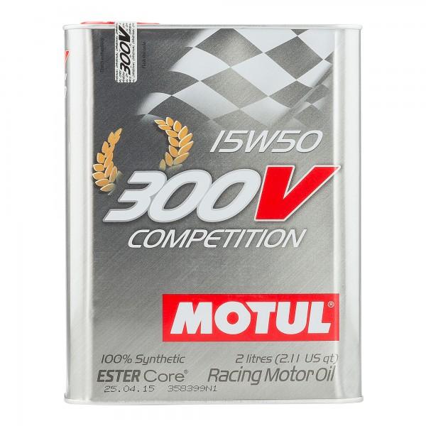 Motul 300V Competition 15w50 2 Litres