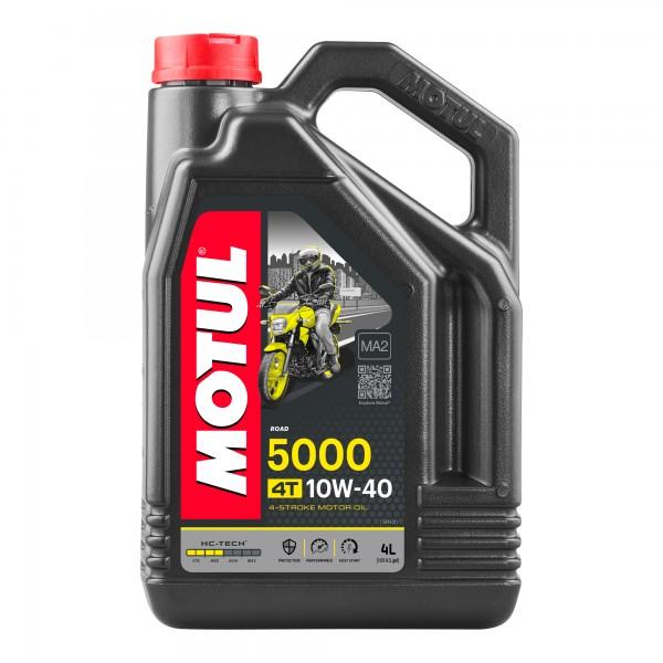 Motul 5000 10W40 4T 4 Litres