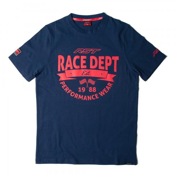RST Vintage 88 Mens T-Shirt Navy / Red
