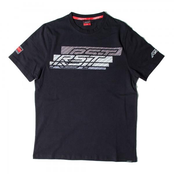 RST Speed Lines II Mens T-Shirt Black