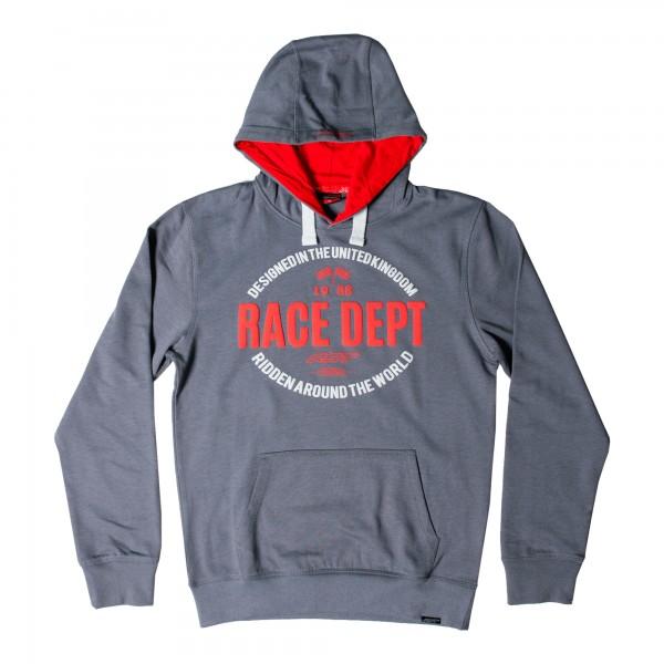 RST Casual Original 1988 Mens Hoodie Grey / Red