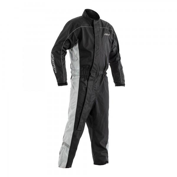 RST Hi-Vis Waterproof Suit Black / Grey