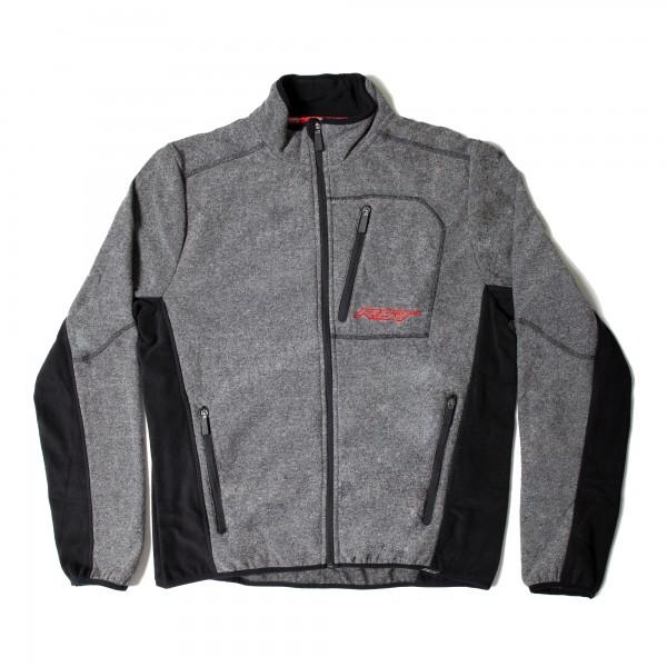 RST Full Zip Fleece Mens Jacket Grey Marl