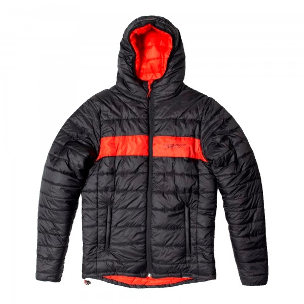 RST Casual Premium Hollowfill Mens Jacket Black / Red