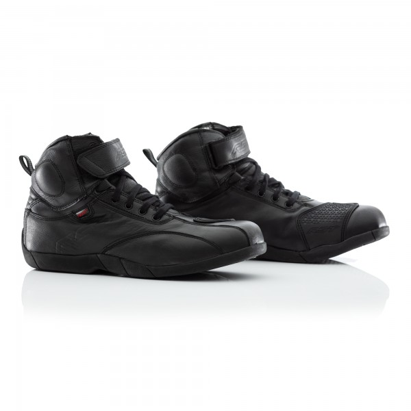 RST Stunt Pro CE Mens Waterproof Boot Black / Black