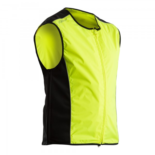 RST Safety Mens Textile Jacket Flo Yellow