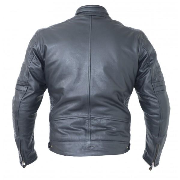RST Interstate IV Mens Leather Jacket Black