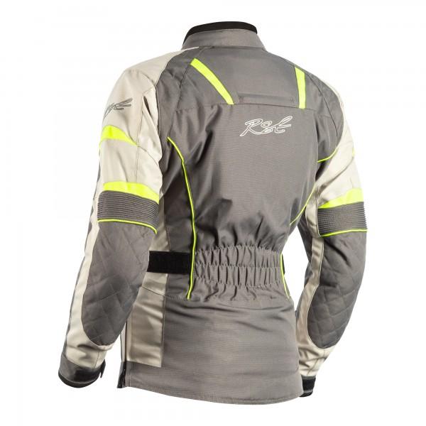 RST Gemma II CE Ladies Textile Jacket Gun / Flo Yellow