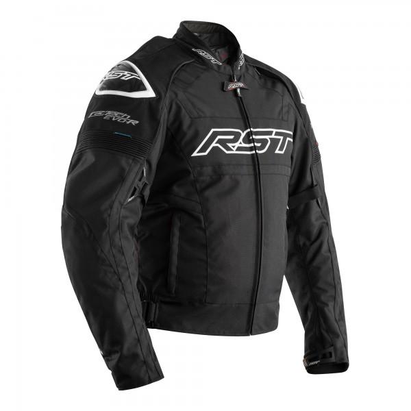RST Tractech Evo R CE Mens Textile Jacket Black / Black