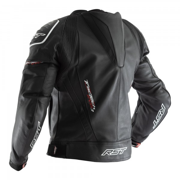 RST Tractech Evo III CE Mens Leather Jacket Black / Black