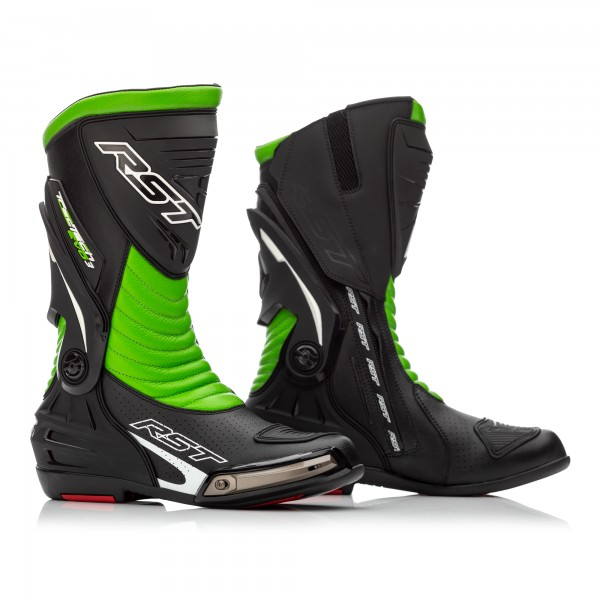 RST Tractech Evo 3 CE Boots Black/Green