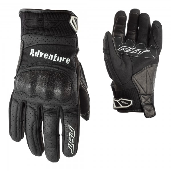RST Adventure CE Mens Glove Black / Black