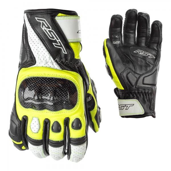 RST Stunt III CE Mens Glove Black / Flo Yellow