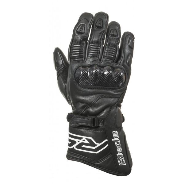 RST Blade 2 CE Leather Gloves Black