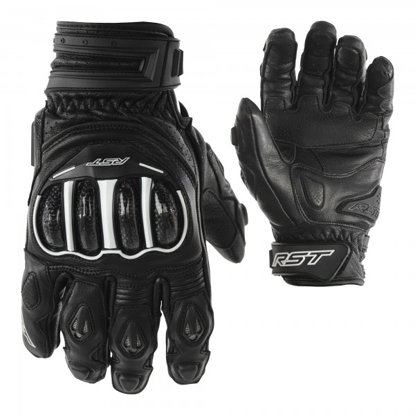 RST Tractech Evo CE Short Mens Glove Black / Black