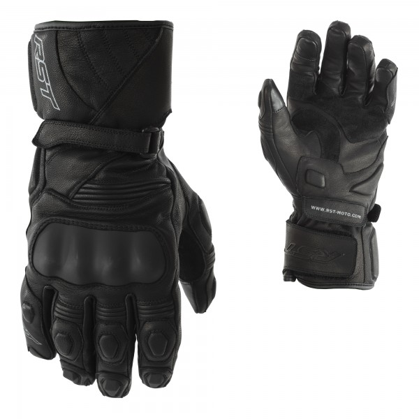 RST GT CE Mens Waterproof Glove Black / Black